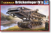Trumpeter 1/35 scale model 00390 Germany on the 4th engineering crane bridge b type