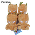 Guardians of the Galaxy Groot Rocket Raccoon Plush Toys with key chain Soft Stuffed Dolls 10pcs/lot 2 styles
