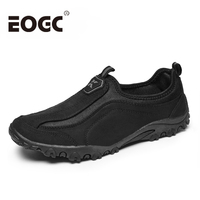 Fashion Flock Outdoor Men Casual Shoes High Quality Suede Leather Shoes Men Casual Outdoor Sport Shoes