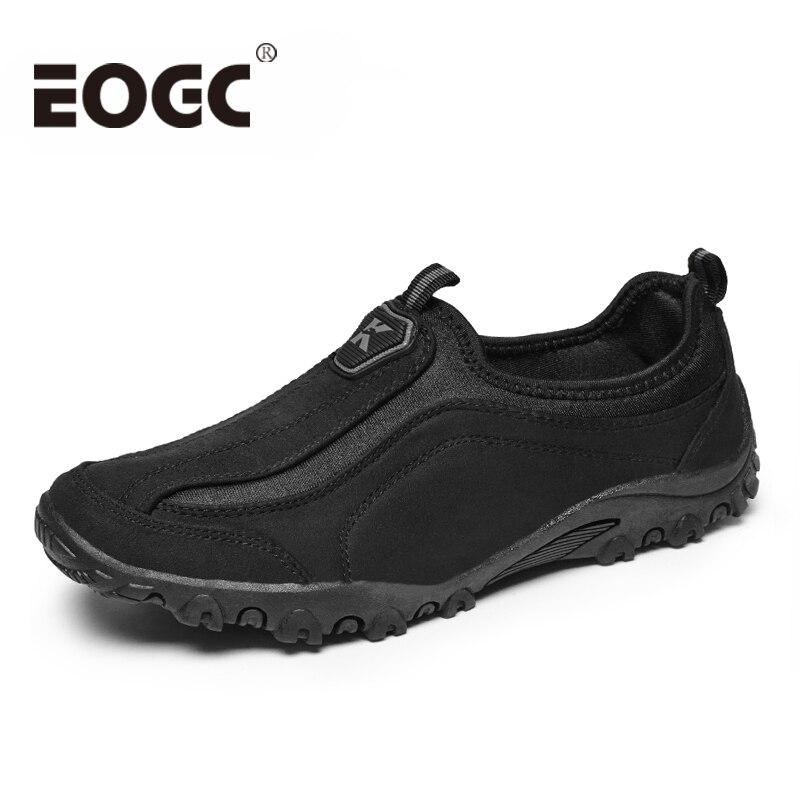 Troupeau de mode En Plein Air Hommes casual chaussures de Haute qualité en daim en cuir chaussures Hommes Casual sport en plein air chaussures pour hommes sneakers 39-46
