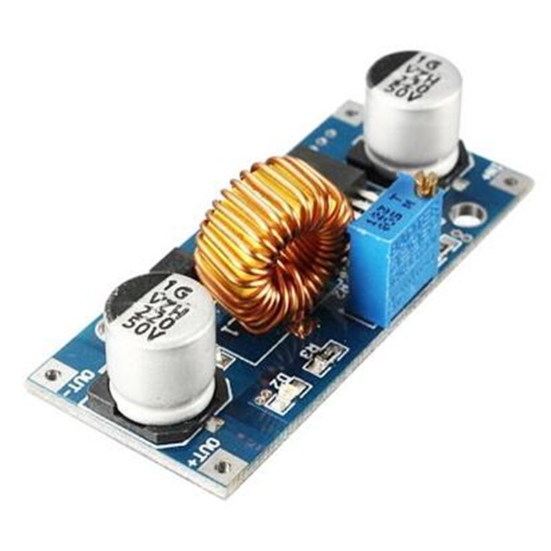 10pcs 5A XL4015 DC-DC Step Down Adjustable Power Supply Module LED Lithium Charger