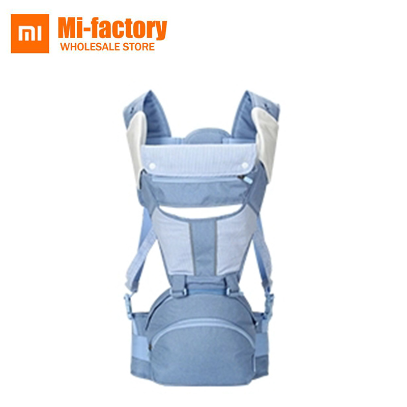 New Arrival Xiaomi Xiaoyang Multi-functional Ergonomic Baby Carrier Waist Stool Kids Infant Hipseat Bear 3.5-30kg For 0-36 Month