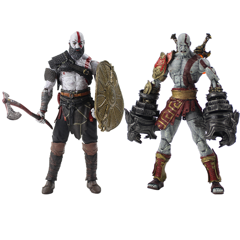 19-20cm NECA God War Ghost Sparta Kratos In Ares Armor Figurine PVC Action Figure Collectible Model Toy For Kids Gift