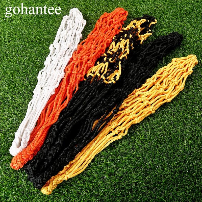 Gohantee Soccer Accessories Football Mesh Net Bag Single Ball Carrier For Carrying Basketball Volleyball Soccer Football 5Colors