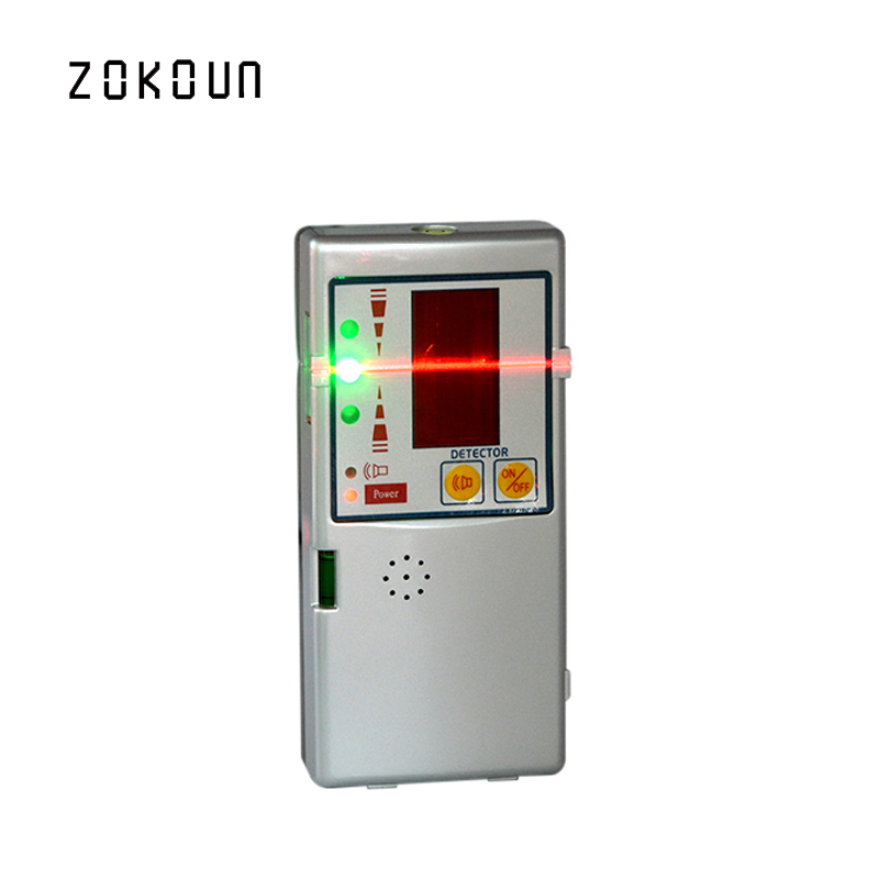 Outdoor receiver Electronic Leveling 635nm laser level available red beam cross line laser receiver or detector with Clamp high quality southern laser cast line instrument marking device 4lines ml313 the laser level