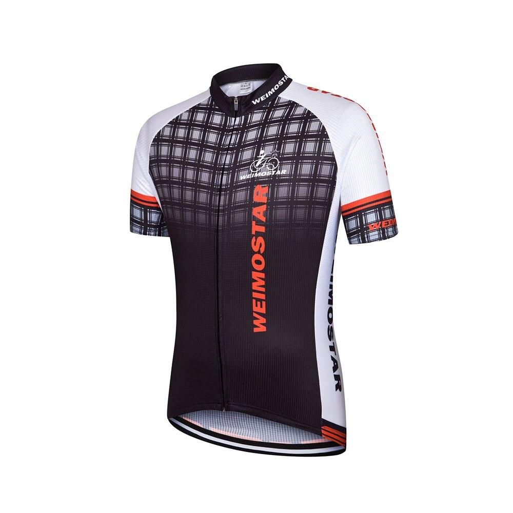 Weimostar Pro Racing Bersepeda Jersey Tim Olahraga 1209 Kemeja Army Black Pakaian Bernapas Mtb Sepeda Ropa Ciclismo