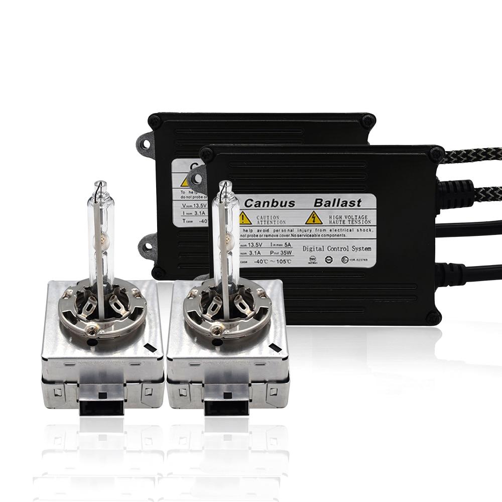 SKYJOYCE 35W Xenon D1S Canbus HID Kit Original D1S 4300K 5000K 6000K 8000K D3S HID Bulb