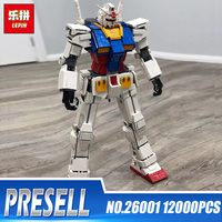 2018 New Lepin 26001 Moc Anime Series Fictional Manned Robot Mobile Suit Building Blocks Bricks Educational Toys Kids DIY Gifts