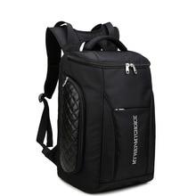 2129 Новый МУЖЧИНЫ простой повседневная сумка баррель водонепроницаемый портативный рюкзаки большой емкости рюкзак
