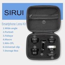 SIRUI WPFM KBRK Smartphone lens external high definition SLR Five mirror set