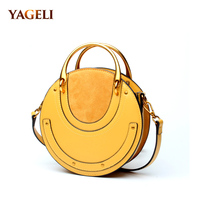 100% genuine leather women's crossbody bags famous brands designer ladies handbags high quality ladies' shoulder messenger bags