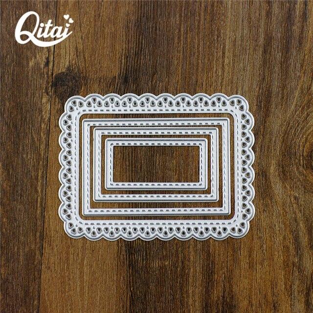 Tienda Online QITAI corte muere Metal tira benevolencia marco ...