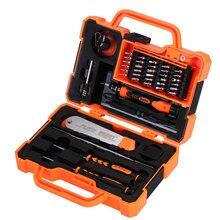 Набор профессиональных инструментов JAKEMY 45 в 1, отвертка, многофункциональные биты для компьютера, инструменты для ремонта инструментов