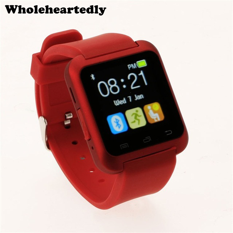 Μόδα U80 Bluetooth Smart ρολόι WristWatch smartwatch για iPhone 4 4S 5 5S 6 Samsung S4 Σημείωση 2 3 για HTC xiaomi Android Phone