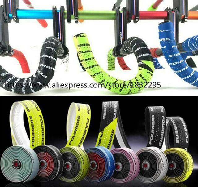 1 комплект велосипеды Fouriers велосипед Руль Лента ремень велосипед Велоспорт Ручка из пробки Водонепроницаемый велосипедные ленты на руль