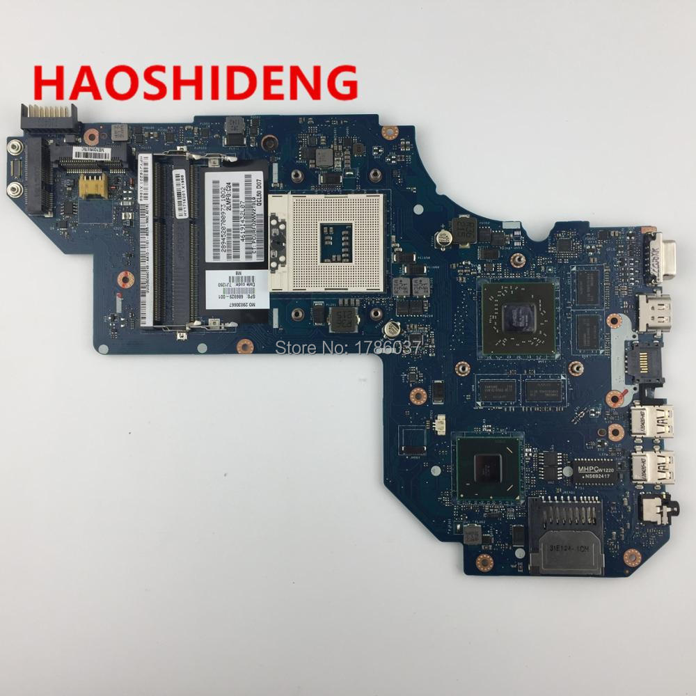 686929-001 for HP Pavilion M6 M6T-1000 series motherboard with HM77 7670M/1G.All functions fully Tested !