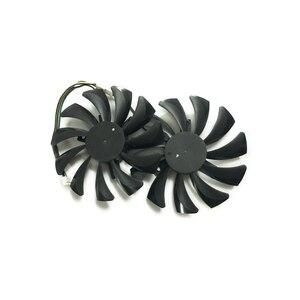 85 мм RX470 RX570 VGA GPU Видеокарта кулер вентилятор для MSI RX 470 RX 570 ARMOR видеокарты система охлаждения как замена