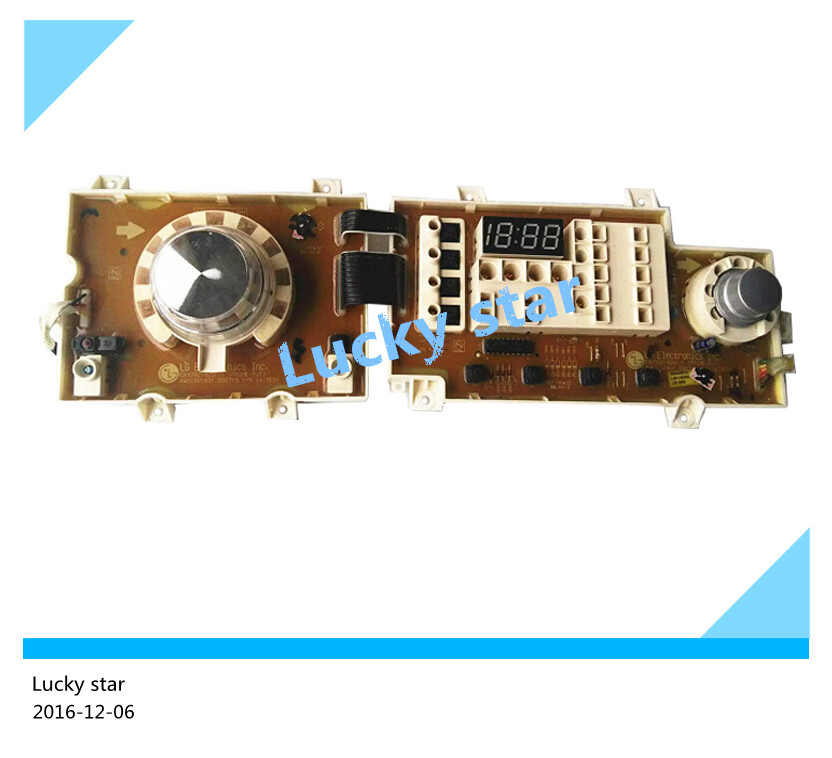 95% new used for washing machine computer board WD-N10240D EBR568233 EAX39219201-1 Display panel good working good working high quality for lg washing machine computer board wd n10310d ebr61282428 ebr61282527 board