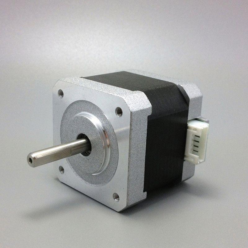 цена на free shipping 4 lead Nema17 Stepper Motor 42 motor Nema 17 motor 42BYGH 38MM 1.7A (17HS4401) motor for CNC XYZ 3d printer motor