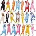 Panda Urso Galo Coruja StitchTigger Raposa Gato Pássaro Mulheres Onesie Animais Pijama Pijama Pijama Terno Sleepwear Para As Mulheres