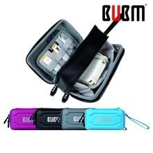 BUBM puissance banque unique couche double couche Portable Voyage Organisateur numérique recevoir sac comestic organisateur sac