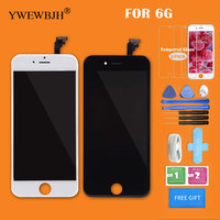 YWEWBJH AAA LCD Touch Screen For IPhone 6 Display Assembly Replacement Digitizer Glass No Dead Pixel