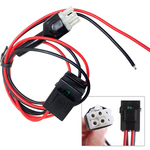 Image 4 - 1meter Power Cable 30Amp Replacement For Icom Radio IC 706 IC 718 IC 746 IC 756