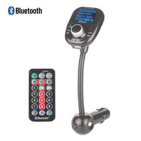 Car MP3 Audio Player Bluetooth FM Transmitter With Remote Control Wireless FM Modulator Car Kit HandsFree LCD Screen USB Charger