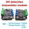 free shipping, Current and voltage dual output UV sensor transmitter module New