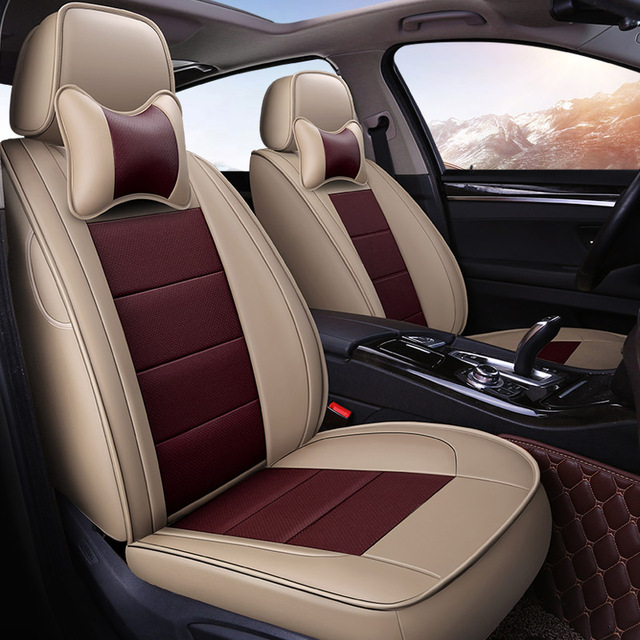 Yuzhe Auto Leather car seat covers For BMW e30 e34 e36 e39 e46 e60 e90 f10 f30 x3 x5 x2 x1 f11 automobiles car accessories