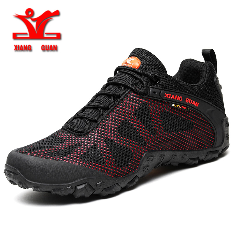 Xiangguan hiking shoes for women breathable mesh unisex shoes outdoor runnig sports shoes men slip resistant wear couple shoes 2016 new couple hiking shoes breathable non slip outdoor sports shoes large size climbing shoes for men and women