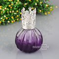 Purple Cyrstal Glass Fragrance Essential Oil Diffuser Perfume Bottle Kit 100ml