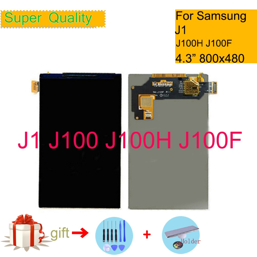 Für <font><b>Samsung</b></font> Galaxy J1 J100F J100H <font><b>J100</b></font> SM-J100F <font><b>LCD</b></font> Display Screen Panel Monitor Modul J100H Display Ersatz Teile image