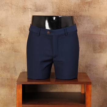 2019 New Spring Autumn Fashion slim fit Men Casual Pants Straight Dress Men Blue Business Suit skinny Pants For Man CBKZ026
