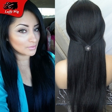 Wig for Black Women Brazillian Straight Hair 8-24inch Glueless Lace Front Human Hair Wigs 130% Destiny Wig Caps for Making Wigs