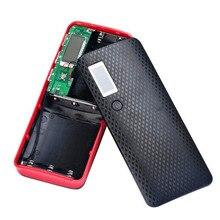 FGHGF Marca 3 Portas USB 5 V 2A 5×18650 Banco De Potência Bateria De Backup Externo Carregador De Caixa De bateria Para O Telefone Móvel Celular melhor