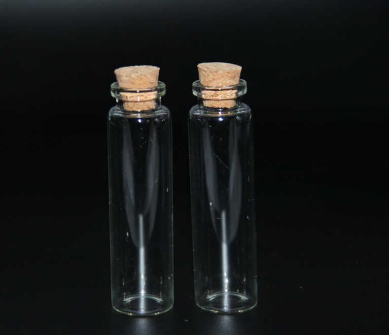 300ชิ้น22*80มิลลิเมตรขวดขวดแก้วขวดเครื่องประดับPotion Tieเสียบแก้วและกล่องไม้Wishingของขวัญเครื่องประดับกล่องเก็บออแกไนเซอร์ตกแต่ง