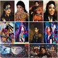 Алмазная картина OUYIJIA 5D для рукоделия, алмазная живопись Майклом Джексоном MJ, полностью квадратная вышивка крестом, алмазная вышивка, мозаи...