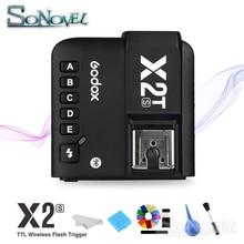 Godox X2T S X2TS TTL 1/8000s HSS bezprzewodowy nadajnik wyzwalania lampy błyskowej dla Sony A7M3 A7RIII A7 III A6500 A6400 z V860II S TT685S