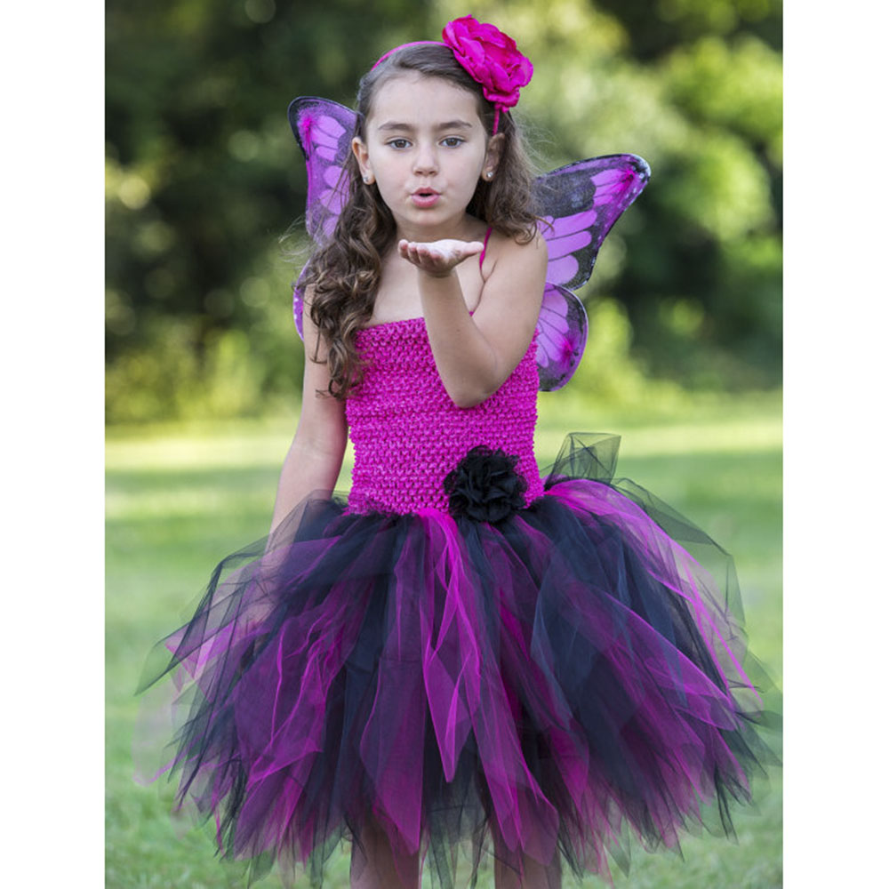 Popular Pink and Black Tutu Dress-Buy Cheap Pink and Black Tutu ...