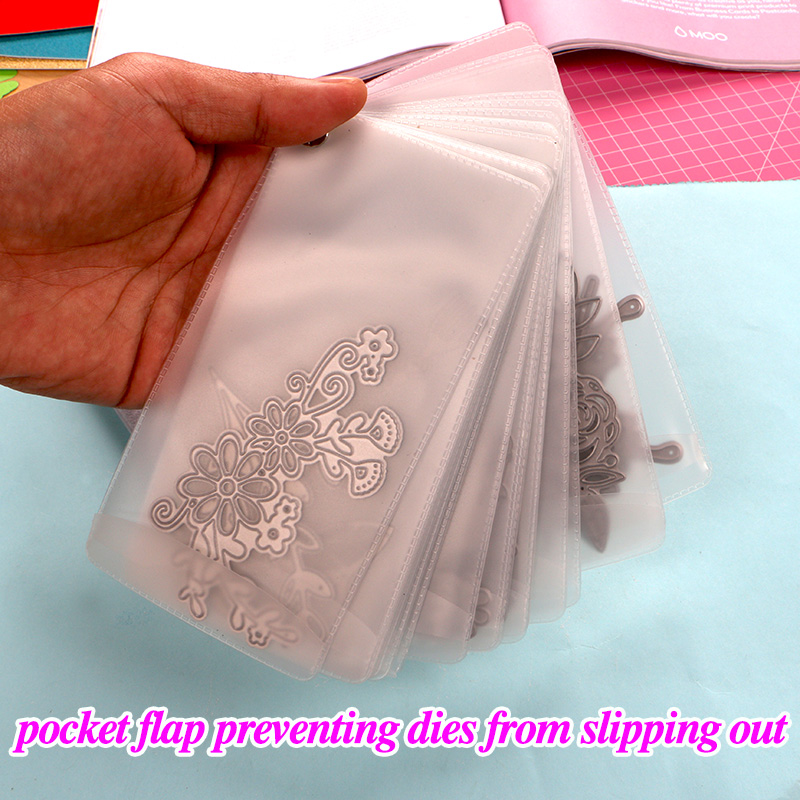 DUOFEN METAL CUTTING DIES HOLDER Cutting Dies Storage Plus Fabric Bag DIY Scrapbook Paper Album 2019 New