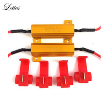 Led-Bulb Resistors Flash Hyper Error-Code Turn-Signal Blink Fix 6ohm Fast 50W Load Leites