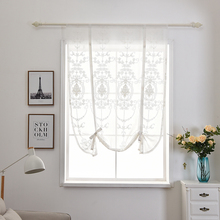New Kitchen Short Curtain Drape Panel Screen Voile Window for Living Room Bedroom Tulle Door Sheer