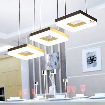 YANGHANG nueva llegada luces colgantes Led para el comedor Bar hogar Dec  AC85-265V lampadari moderno una lámpara colgante Led
