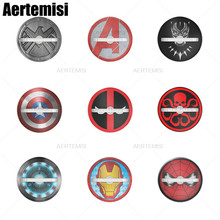 Aertemisi Phone Holder 360 Rotation Ring Stand Grip Car Mount for Smartphones and Tablets Captain America Shield Marvel Goose captain 360 ex