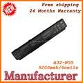 5200 мАч N45 N55 N75 батареи ноутбука Для ASUS A32-N55 07G016HY1875 A32-N45 Замена батареи