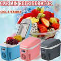 3-7 delivery!! 7.5L Mini Fridge Cooling And Heating Nevera Portable Geladeira Portatil Auto Car Refrigerator Cooler Box Freezer
