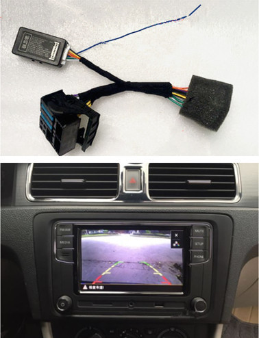 US $14 43 |RCD330 Plus Plug&Play ISO Quadlock Adapter Cable w/ CANBUS  Decoder Simulator For VW Golf VI Jetta 5 6 MK5 MK6 Passat B6 Polo-in  Cables,