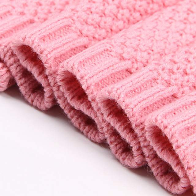 Knitted Baby Knitted Crochet Blankets Newborn Muslin Swaddle Organic Cotton Soft Bedding Baby Swaddle Wrap Newborns Blanket For All (0-3 years) Nursery Shop by Age Swaddle Blankets