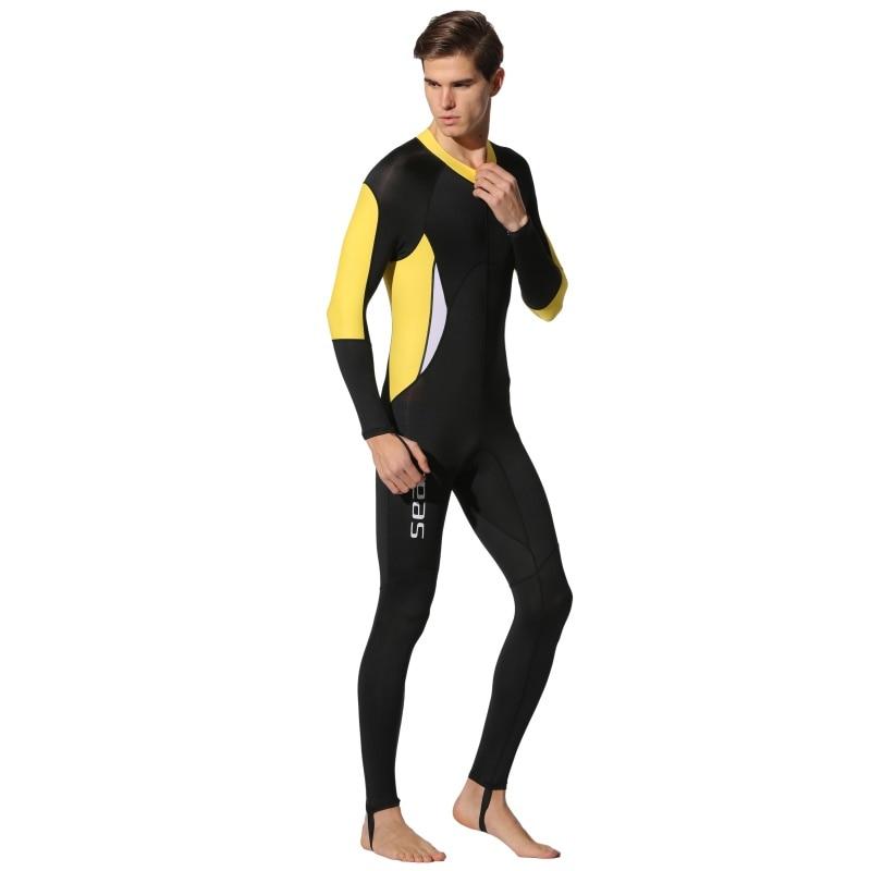 0.5mm Wetsuits Men Women Lovers Swimsuits Lycra Diving Suit Full Body Swimwear 2018 New Arrive Dive Surfing Suit Rash Guards